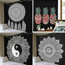 New Mandala Tapestry Wall Hanging Indian Hippie Dorm Ethnic Cotton Decor Home Wall Decal Decaoration