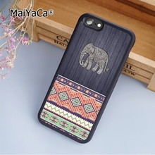 MaiYaCa Dumbo The Elephant Art Painting fashion soft mobile cell Phone Case Cover For iPhone 6 6S Custom DIY cases luxury shell(China)