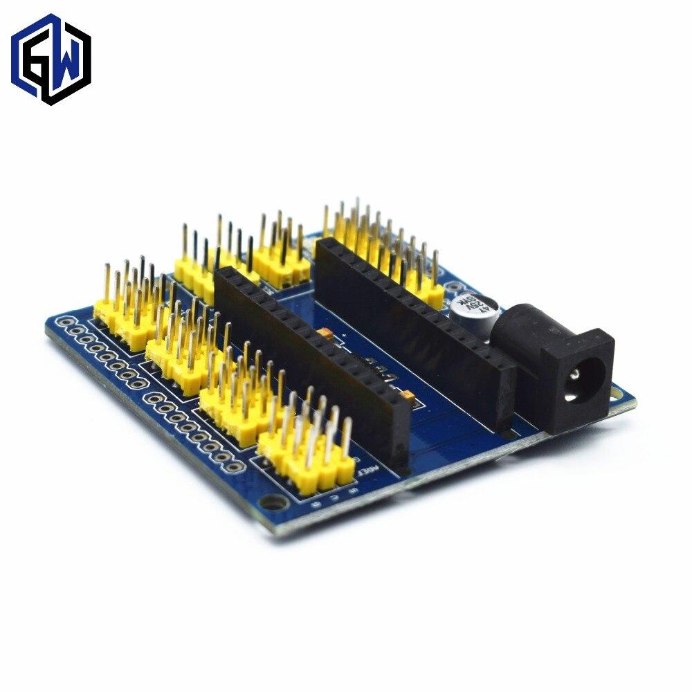 pcs UNO Shield Nano Shield for NANO 3.0 and UNO R3 duemilanove 09 Expansion board A05 1