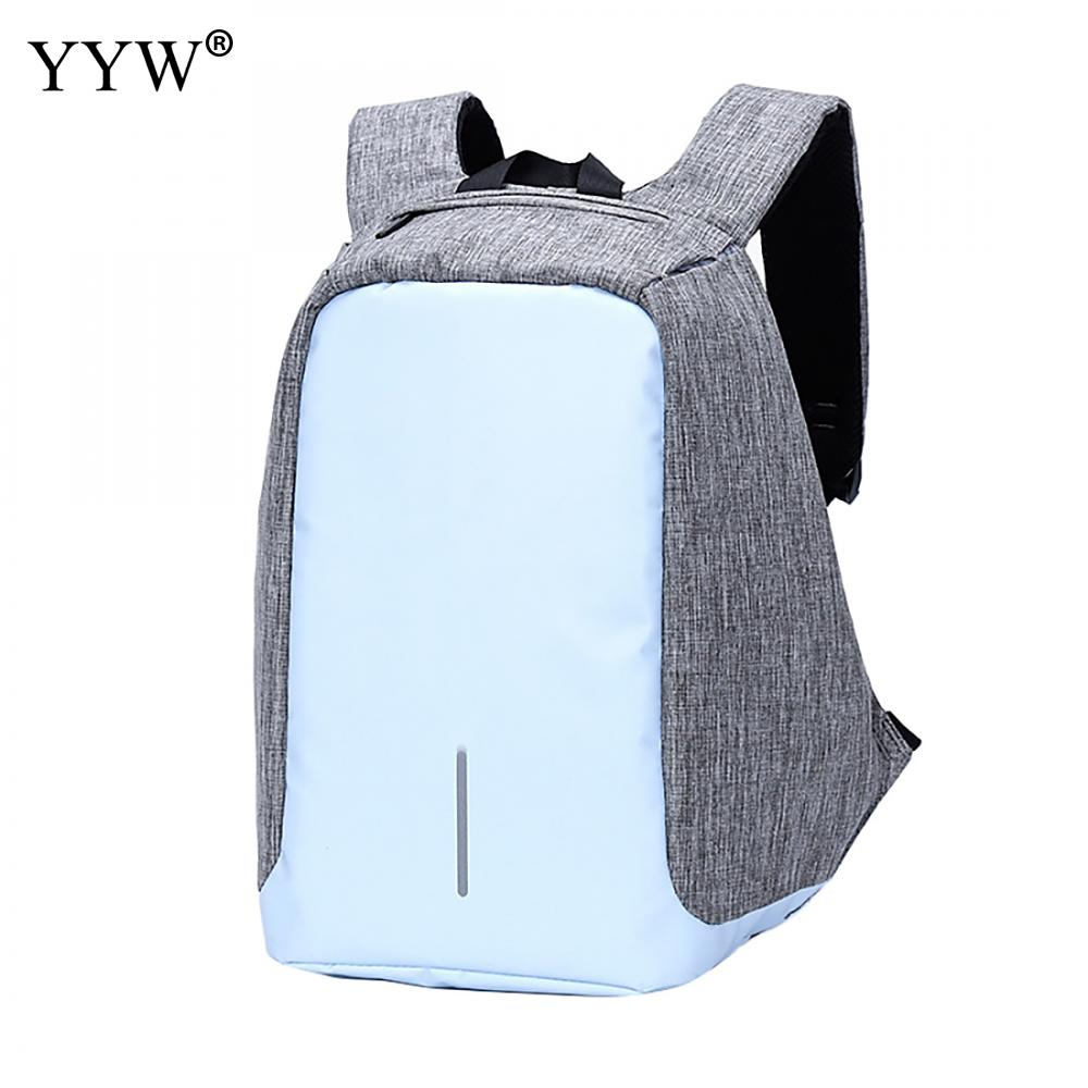 Oxford Women Backpack Multifunction Usb Charging Female Laptop Backpacks For Teenager Fashion Mochila Travel Anti Thief Backpack<br>
