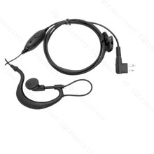 G Hook Headset Mic for Motorola two way radio XV1100 XV2100 XV2600 XV4100 GP2000 GP2100 GP300 GP308 GP68 GP88S SP10 SP21 SP50