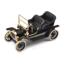 1923 Ford Model T Black 1/43th Alloy Diecast Car Convertible Vehicles & 1:43 Classic Diecast&Plastic Car Model Kids Toy(China)