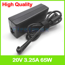 20V 3.25A AC adapter laptop charger for Advent Roma 1000 1001 2000 2001 3000 3001 4000 4001 C900 R410 R410C R410IU R410SG R410SU