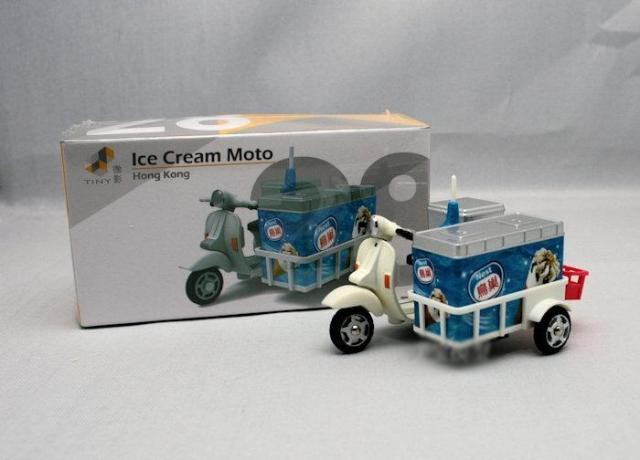 TINY 1:35 HongKong ice Cream motorcycles boutique alloy car toys for children kids toys Model original box freeshipping(China (Mainland))