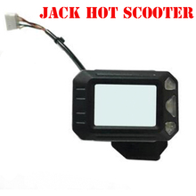 Original JACKHOT Electric Scooter Instrument Display Screen Switch Accelerator 24V 5.5 Inches JACK HOT Scooter Parts