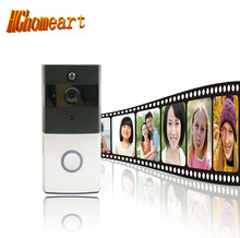 HGhomeart Low power cell phone remote video wireless smart doorbell Home alarm WIFI wireless video to the doorbell