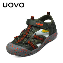 Eur 25-34 New Uovo Boys Brand Sandals Baby Boy Summer Shoe Children'S Sandal Kids Beach Sandal High Quality Mesh Infant Boy Shoe