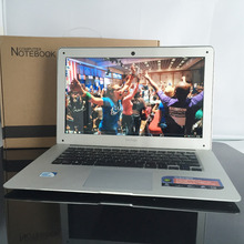 14 inch 8GRam 750GHDD and 64G SSD 1366X768P screen portal Intel Celeron J1900 2.0GHz windows 10 system built in camera laptop(China)