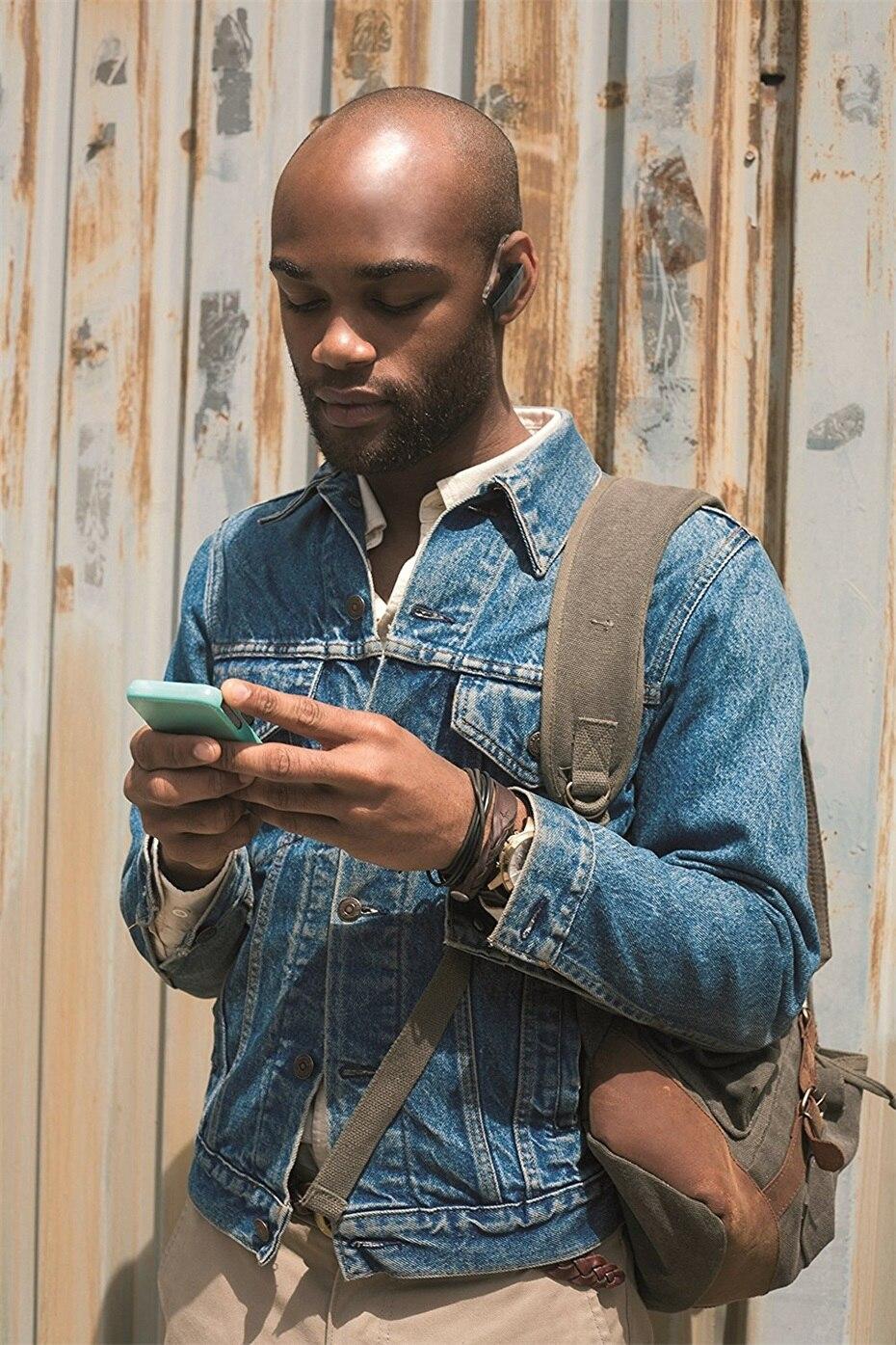 Plantronics EXPLORER 50 Mobile Bluetooth Wireless Earphone Headset HD Voice Control Stream Audio For Smartphone Hands-free Call (4)