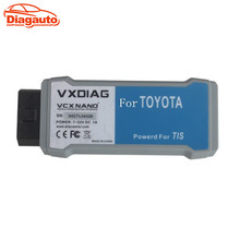 Diagauto VXDIAG VCX NANO for TOYOTA Diagnostic Tool V10.30.029 with SAE J2534 WIFI VCX NANO ECU Reprogramming