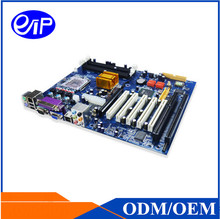 Factory Price Desktop Motherboard LGA775 Core 2/Pentium CPU DDR2 2xISA Slot 5xPCI Dual Nic Win XP Micro-ATX Desktop Motherboard(China)
