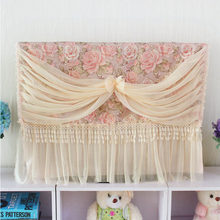 "Quality TV LCD machine cover cloth hanging towel lace television dustproof cover TV set 27""/32""/37""/42""/47""/50""/55""/58""/60""/65""(China)"