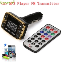 High Quality mp3 transmitter for car mp3 coche MP3 Player Wireless FM Transmitter Modulator Car Kit USB SD TF MMC LCD Remote