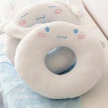 Gift for baby 1pc 36cm cartoon cinnamoroll white dog donut sweet plush rest pillow cushion novelty creative stuffed toy