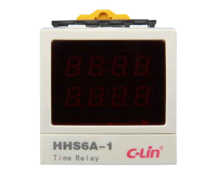 C-Lin Xin Ling card HHS6A-1 AC220V intelligent time relay positive / countdown power failure memory<br><br>Aliexpress