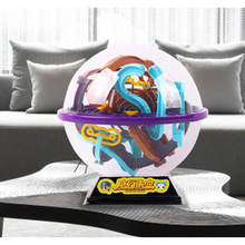 17*17cm 3D Magic Intellect Ball Marble Puzzle Game perplexus magnetic balls IQ Balance toy Educational classic toys Maze Ball(China)