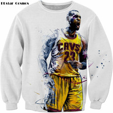 Fashion Autumn Designer Star LeBron James Sweatshirt men/women's 3d Hoodies Harajuku Sweatshirts size S-5XL Dree shipping