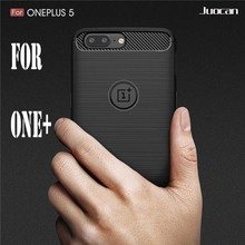 Juocan Brush Technology With Perfect Texture Phone Case For Oneplus  3T Soft TPU Carbon Fiber Cell Phone Case For One Plus 5