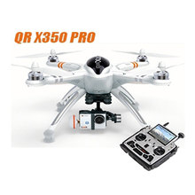 hot sale Walkera QR X350 Pro with DEVO F12E 5.8GHz FPV GPS RC drone with camera Quadcopter RTF Suit for Gopro 3 / iLook