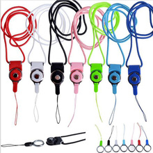 1000pcs Rotation Cell Phone Mobile Phone Neck Chain Straps Key Keychain Hang Rope Lariat Lanyard Detachable Camera Straps Univer