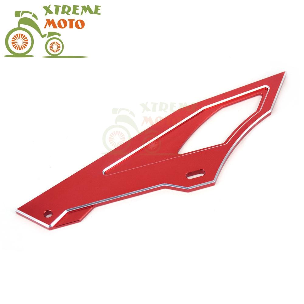 Red Billet Heel Guard Cover For Honda XR250 Baja CRF250L CRF250M CRM250R Serow225 TW200 TW225 Motorcycle<br><br>Aliexpress