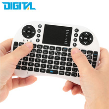 2.4G Mini USB Wireless Spanish Version Keyboard Touchpad & Air Mouse Fly Mouse Remote Control for Android Windows TV Box