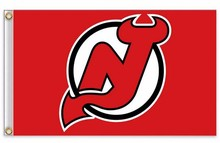 New Jersey Devils Flag NHL National Hockey League 3ft x 5ft Polyester Banner Flying 150* 90cm Custom flag sport