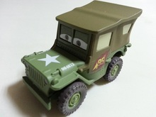 Pixar Cars Sarge Metal Diecast Toy Car 1:55 Loose Brand New In Stock & Free Shipping