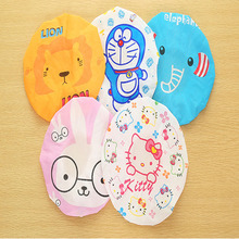Hot Sale Cute Women/Girls Waterproof Shower Cap For Spa Household Cleaning Cooking 2016 New