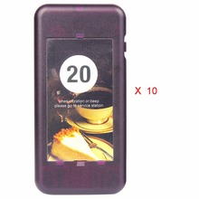 10Pcs TIVDIO 433MHz Call Coaster Pager Receiver for Wireless Restaurant Paging Queuing System Calling Pager System F4427A