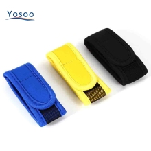 New Type Natural Anti Mosquito Repellent Bracelet Comfortable Repellent Insect Wrist Band with 2pcs Refills Blue Yellow Black(China)