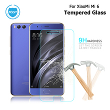For Xiaomi Mi6 Mi 6 Tempered Glass Film Scratch-proof Protective Steel Film For Xiaomi Mi6 Mi 6 Screen Protective Film Popular(China)