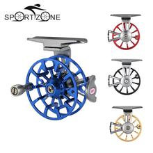 Ultralight Full Metal Fly Fishing Reel 1BB 1:1 CNC Machined Aluminum Alloy Casting Fly Reel Fishing Reel Right Hand