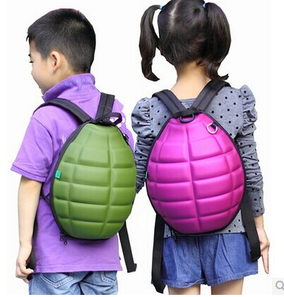Hot sale Korean style Childrens backpack school bag grenade shell bag girl and boy bags<br><br>Aliexpress