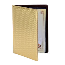 20pcs/lot A4 Oilproof Waterproof Restaurant Menu holders Advertisment Folders Golden Menu Covers High Grade Food List Holders