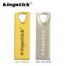 Kingstick metal thumbdrive 4gb U disk 8gb pendrive 16gb memory stick  32 gb pen drive 64gb usb flash drive with key Ring