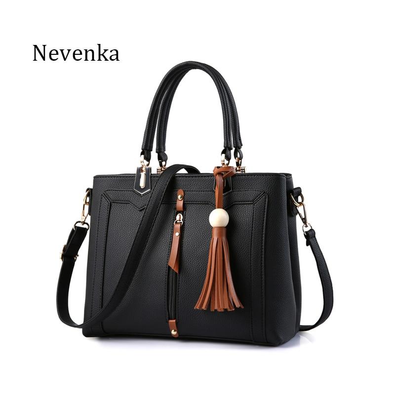 Nevenka Fashion Women Handbag Tote Crossbody Bag Female Top-handle Bags Famous Brands PU Leather Handbags Shoulder Bag Sac<br><br>Aliexpress