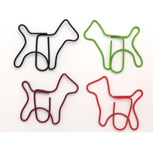 Animals Dog Series Creative Cute Kawaii Paper Clips Bookmark Memo Clip For Office School Supplies Stationery 50Pc(China)