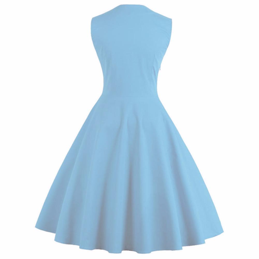 Plus Size Vintage Pin Up Big Swing Floral Dot Rockabilly Dress ...