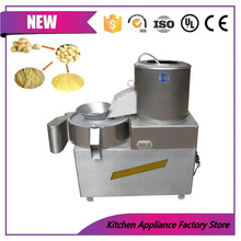 CE approved potato carrot spiral wedges washing cutting machine for sale(China)