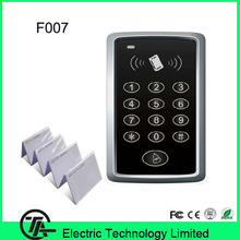 1000 users F007 Card / possword / card+password single door access control standalone keyboard door access control  system