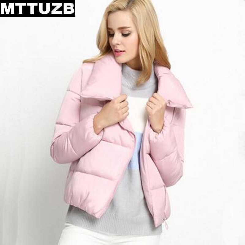 MTTUZB women candy color warm Cotton Padded jacket ladys autumn winter overcoat clothes woman casual outwear feamle outwearОдежда и ак�е��уары<br><br><br>Aliexpress
