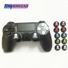200pcs Silicone Key Protector Thumb Grips Joystick Skull Caps for PS4/PS3/PS2/ XBOX360/xboxONE (Controller is not included)