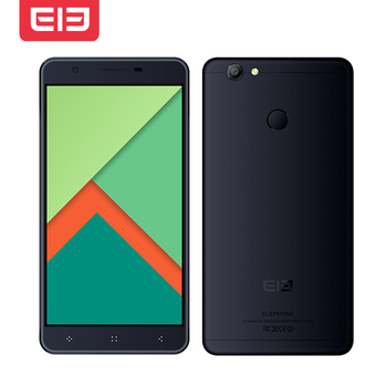 Original Elephone C1X 2GB RAM 16GB ROM MTK6737 Quad Core 5.5 Pulgadas 2.5D HD Pantalla Touch ID Android 6.0 4G LTE Smartphone