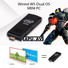 The Latest Mini Compute Stick Windows 10 and Android 4.4 Dual OS with ztom Z3735 Processor Quad Core 2GB+32GB Portable HDMI USB