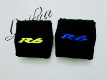 Blue Yellow For Yamaha YZF R6 Rear Back Small Brake Clutch Reservoir Cover Sock Cuff 1 Piece(China)