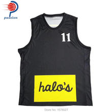 Girl's Team Basketball Uniforms With Chest and Back Numbers Customized
