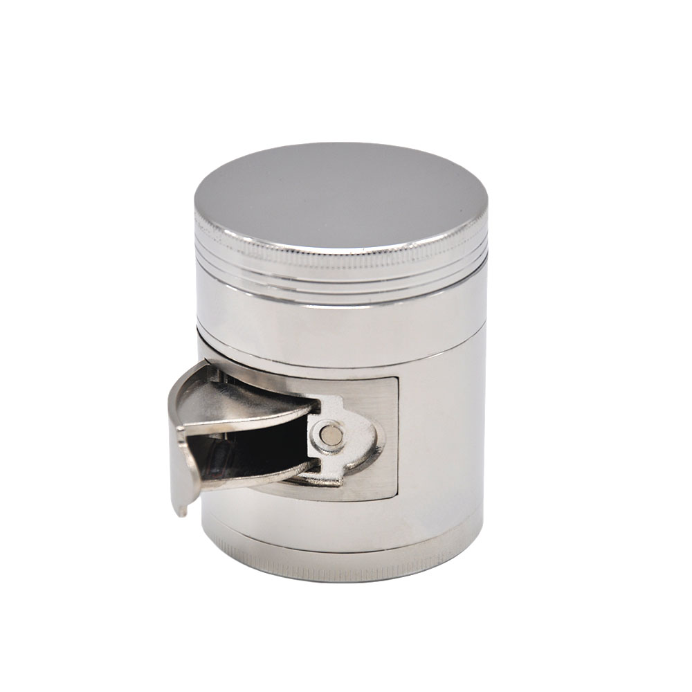 HORNET Multi Functional ZINC Alloy Herb Grinder 56 MM/ 63 MM 4 Layers Tobacco Grinder Grinder Spice Chromium Crusher 16