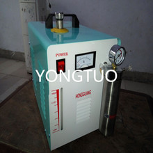 H160 75L Portable Oxygen Hydrogen Water Welder Flame Polisher Polishing Machine With Barometer