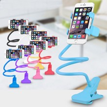 For Iphone 5s 6s Extendable Phone Holder Lazy Bed Bracket Kit Rotating Stand Support Cell Phone Holder For xiaomi redmi note 3